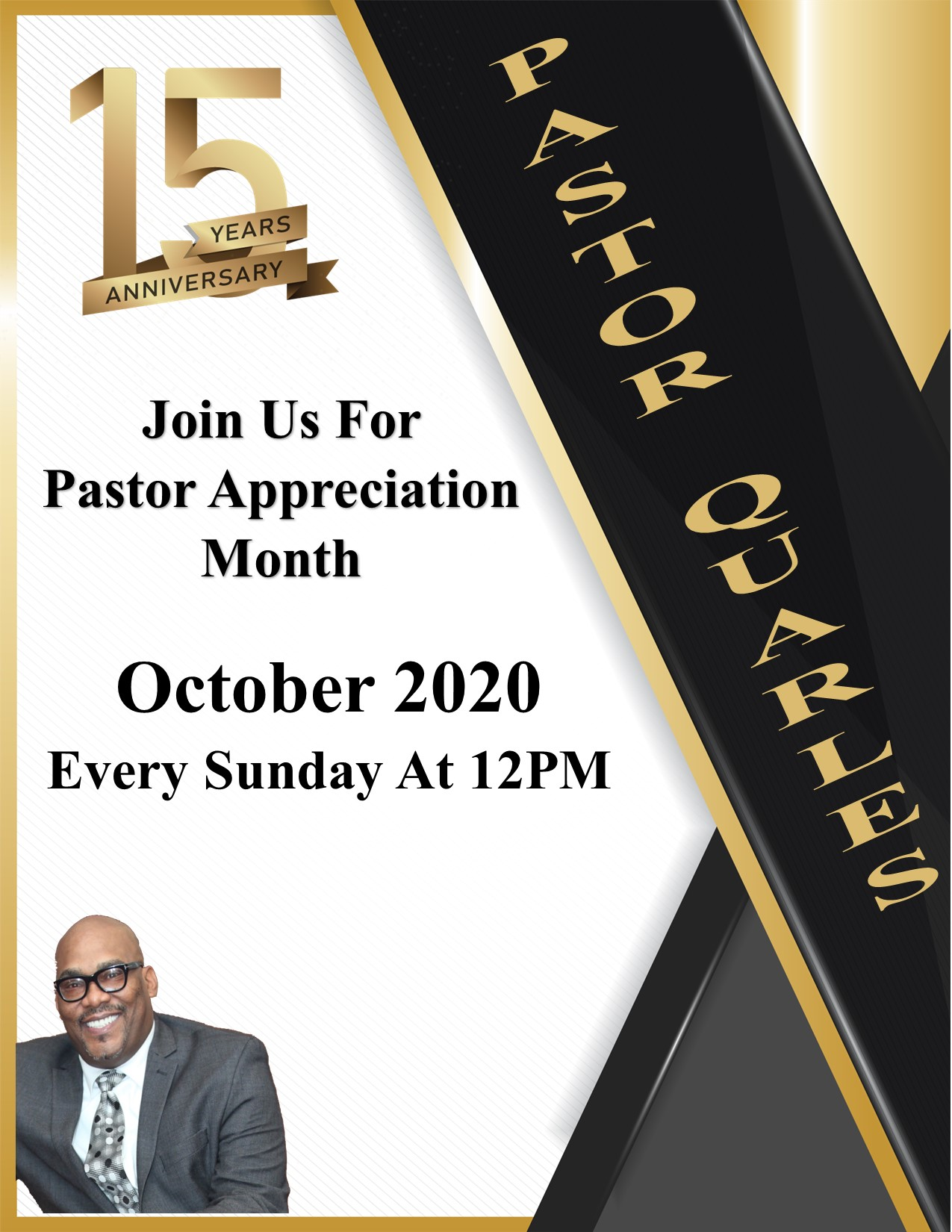 15th Pastoral Anniversary of Pastor Kevin Quarles