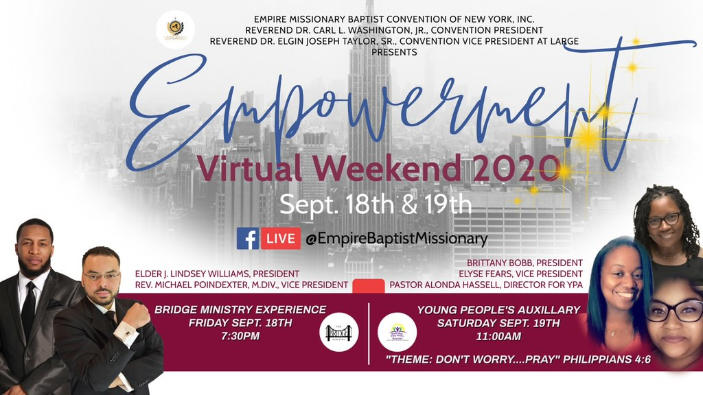 YPA-Bridge Flyer - Empowerment Weekend 2020